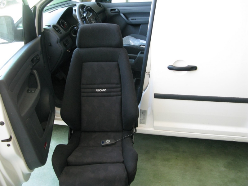 Volkswagen Caddy Van TDI DSG 4Motion Blanc
